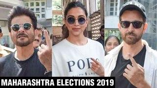Maharashtra Elections 2019 | Deepika Padukone, Hrithik Roshan, Anil Kapoor, Hema Malini Vote