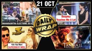 Salman, Aishwarya Cast Vote, Deepika's Tips To Ranveer, Dabangg 3 Trailer Details | Top 10 News