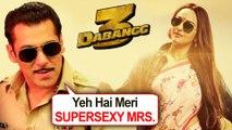 Salman Khan Calls Sonakshi Sinha SUPERSEXY WIFE   Dabangg 3 Trailer Grand Preparations
