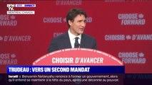 Au Canada, Justin Trudeau repart pour un second mandat