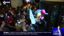 Bolivie: de violents incidents après de nouveaux résultats donnant le président sortant Evo Morales vainqueur au 1er tour
