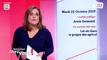 Invitée : Annie Genevard - Bonjour chez vous ! (22/10/2019)