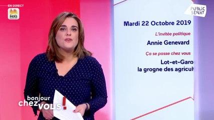 Annie Genevard - Bonjour chez vous ! Mardi 22 octobre