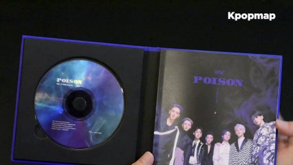 "[Unboxing] VAV 5th Mini Album ""POISON"" Unboxing"