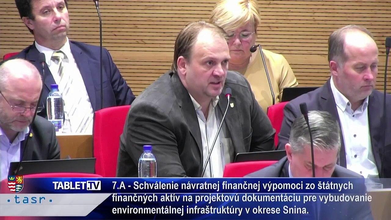 PREŠOV-PSK 16: Záznam zasadnutia Zastupiteľstva Prešovského samosprávneho kraja (PSK)