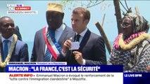 """""""L'avenir économique de Mayotte passe par la pêche"""" a assuré Emmanuel Macron"""