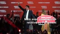 Canada: Justin Trudeau réélu mais sans majorité