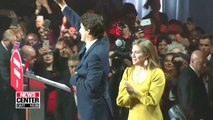 Justin Trudeau's Liberal Party wins Canada's election but loses majority