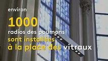 Allemagne : les vitraux d'une église remplacés par des radiographies