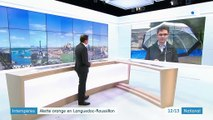 Intempéries : alerte orange en Languedoc-Roussillon