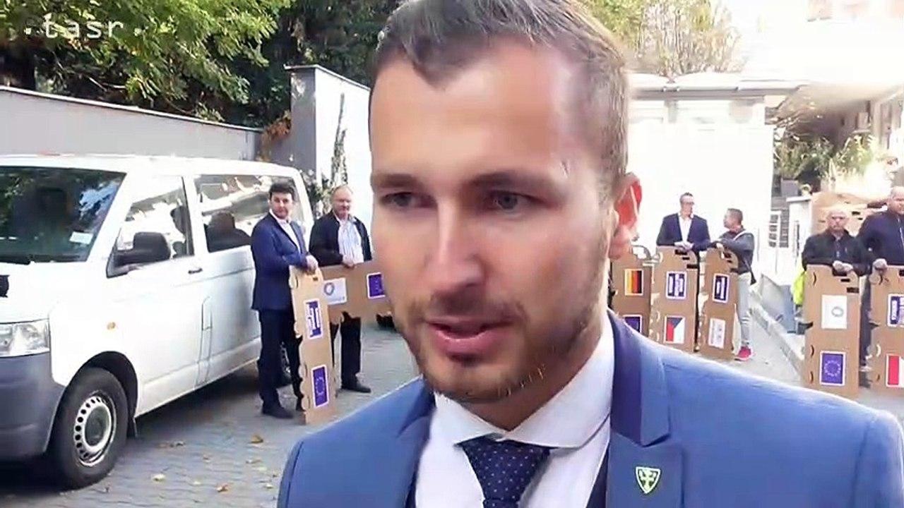 Kamiónový protest občanov z Kysúc a Oravy za urýchlenú dostavbu diaľnice D3