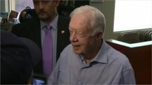Jimmy Carter In The Hospital After A Fall