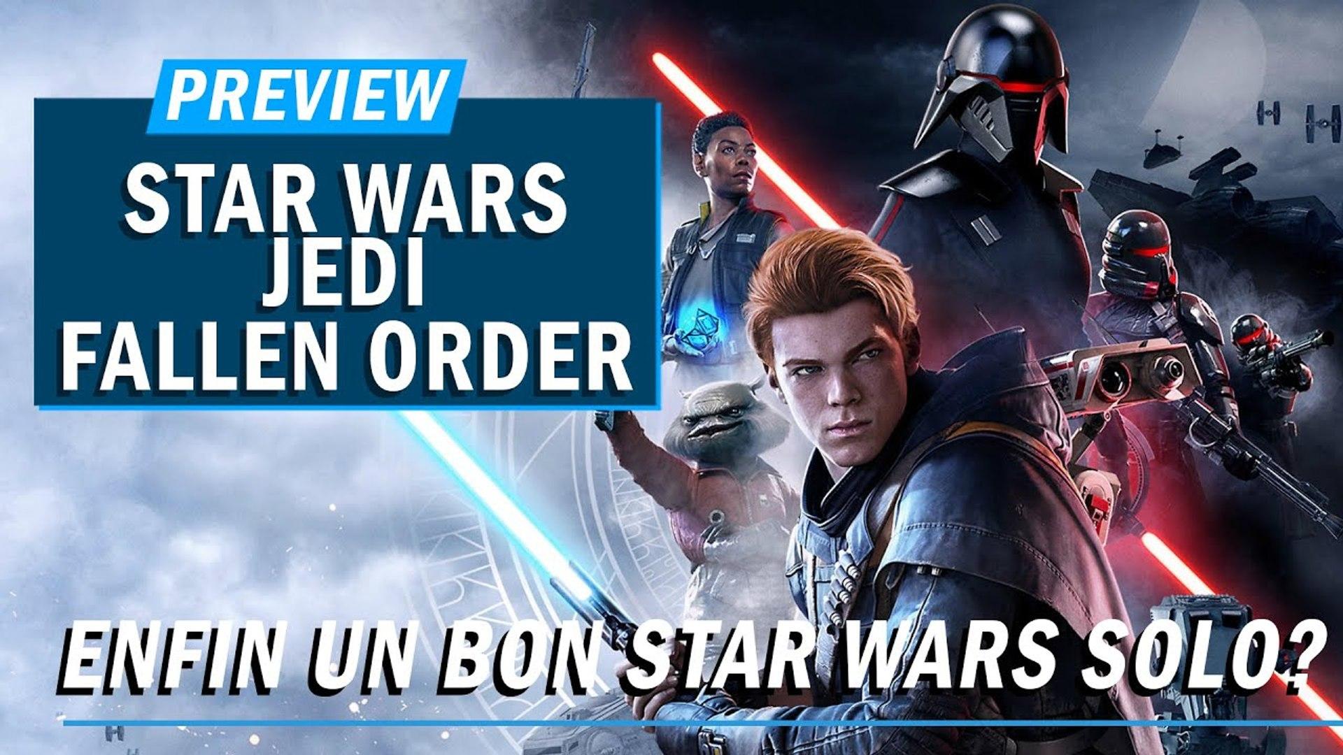 STAR WARS JEDI : FALLEN ORDER : Enfin un bon Star Wars Solo ? | PREVIEW