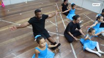 Dancing dad defies macho stereotypes and takes ballet lessons with his girls