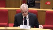 Introduction de l'audition du PDG de Lubrizol devant la commission d'enquête du Sénat