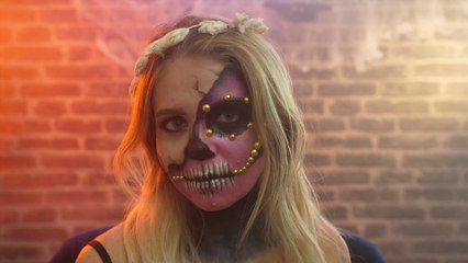 Maquillage d'Halloween : Le Calavera
