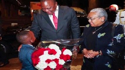 President Kenyatta in Tokyo for Enthronement of Emperor Naruhito