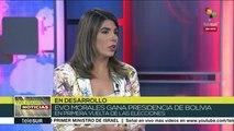 teleSUR Noticias: Evo Morales resulta reelecto presidente de Bolivia