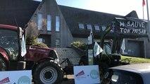Brest. Une cinquantaine d'agriculteurs expriment
