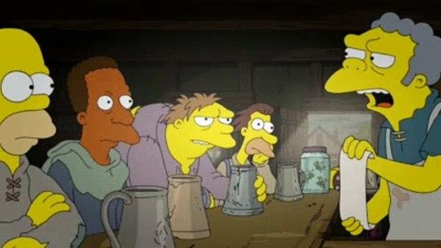 The Simpsons Season 29 Episode 1 The Serfsons