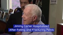 Jimmy Carter Is Hurt