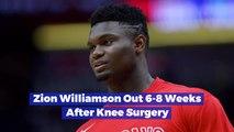 Zion Williamson Needs To Heal