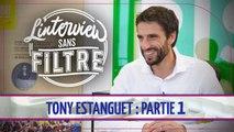 """Paris 2024 : Tony Estanguet défend le nouveau logo des JO, """"C'est un pari"""""""