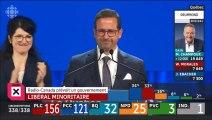 Discours Yves-François Blanchet chef du Bloc Québécois,  qui est parvenu à faire élire 32 députés au Québec