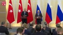 Putin ve Erdoğan'dan ortak açıklama geldi