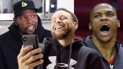 Kevin Durant Admits That He Thinks Steph Curry Is BETTER Than Russell Westbrook