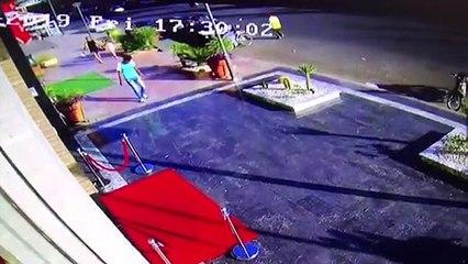 كاميرات مراقبة ترصد سرقة دراجة نارية بمراكش