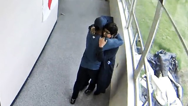 High School Coach Disarms And Hugs Student With Gun