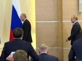 Erdoğan-Putin ortak basın toplantısı - Rusya Devlet Başkanı Vladimir Putin