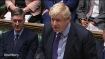 U.K.'s Johnson Wins First Parliamentary Vote on New Brexit Plan