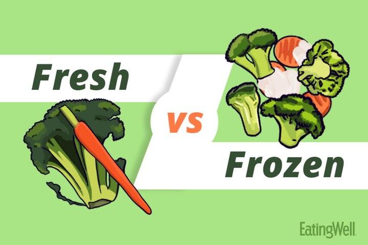 Fresh vs. Frozen Vegetables
