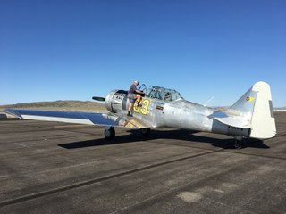 Fly in a 1942 warbird