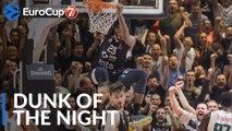 7DAYS EuroCup Dunk of the Night: Rashawn Thomas, Partizan NIS Belgrade