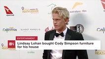 Where Cody Simpson Got His Home Furniture