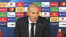 Galatasaray - Real Madrid maçının ardından - Real Madrid Teknik Direktörü Zinedine Zidane - İSTANBUL