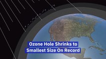 Ozone Hole Shrinks Due To Warmth