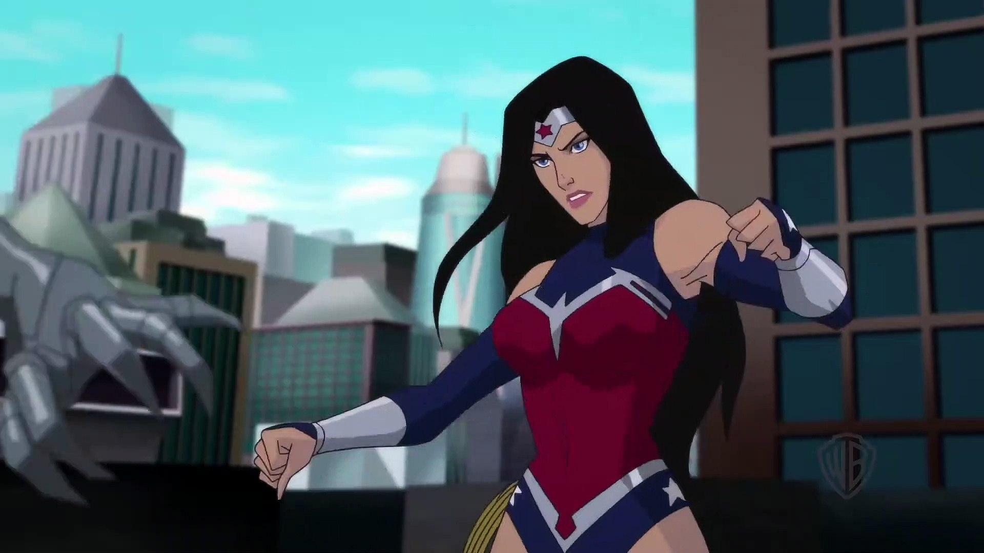 Wonder Woman Bloodlines Movie clip - Wonder Woman vs. Silver Swan