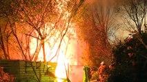 Sarıyer'de hurda kağıt deposunda çıkan yangın söndürüldü - İSTANBUL