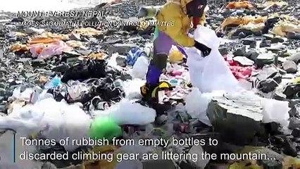 Everest garbage gets second life