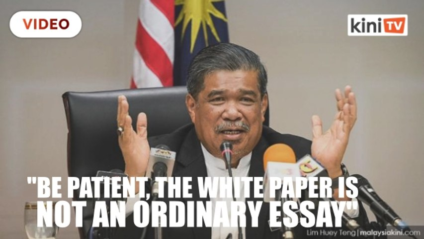 Mat Sabu: No delay in tabling of Defence White Paper