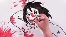JEFF THE KILLER VS SLENDERMAN | Draw My Life creepypasta