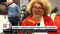 Les fans de Johnny ont pu écouter cette nuit en avant-première à Lille le nouvel album de Johnny qui sortira vendredi