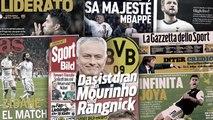 José Mourinho en pole position pour reprendre le Borussia Dortmund, Paulo Dybala enflamme toute l'Italie
