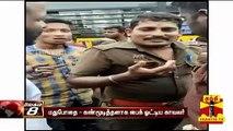 மதுபோதையில் கண்மூடித்தனாக பைக் ஓட்டிய காவலர் | Tiruppur | Police | Thanthi TV