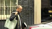 Boris Johnson departs 10 Downing Street to attend PMQs