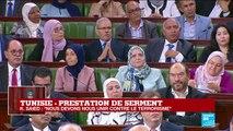 REPLAY - Le nouveau président tunisien Kaïs Saïed prête serment
